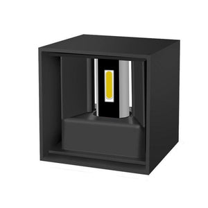 Modern Brief Round Cube Adjustable Surface Mounted Outdoor LED Wall Sconce Lamp