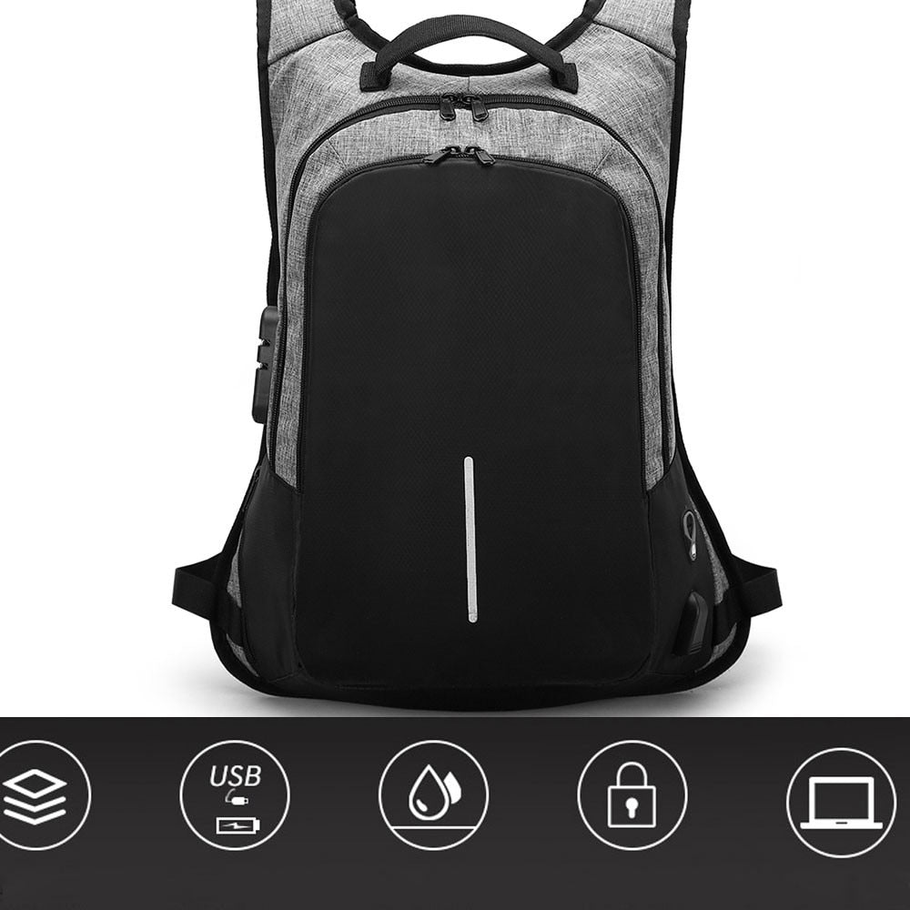High Quality Waterproof Anti-theft Business Laptop Backpack