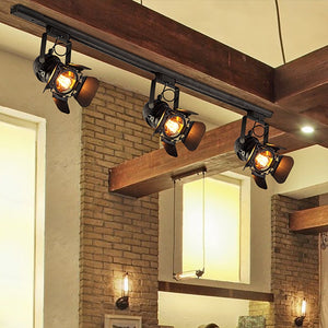 E27 Track Light Spotlights Minimalist LED Ceiling Lamp Lighting Clothing Store Art Decoration