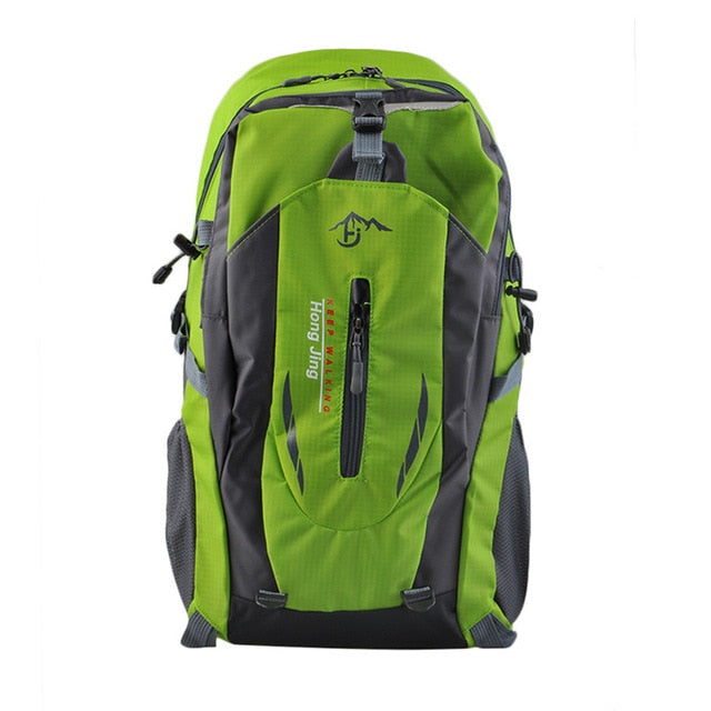 Outdoor Mountaineering 40L Water Repellent Nylon Shoulder Bag