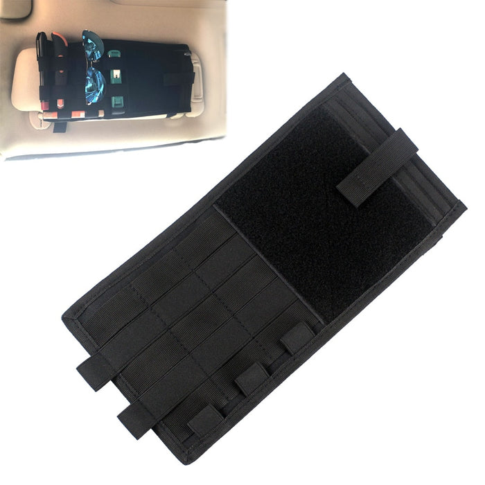 Tactical Vehicle Sun Visor Organizer