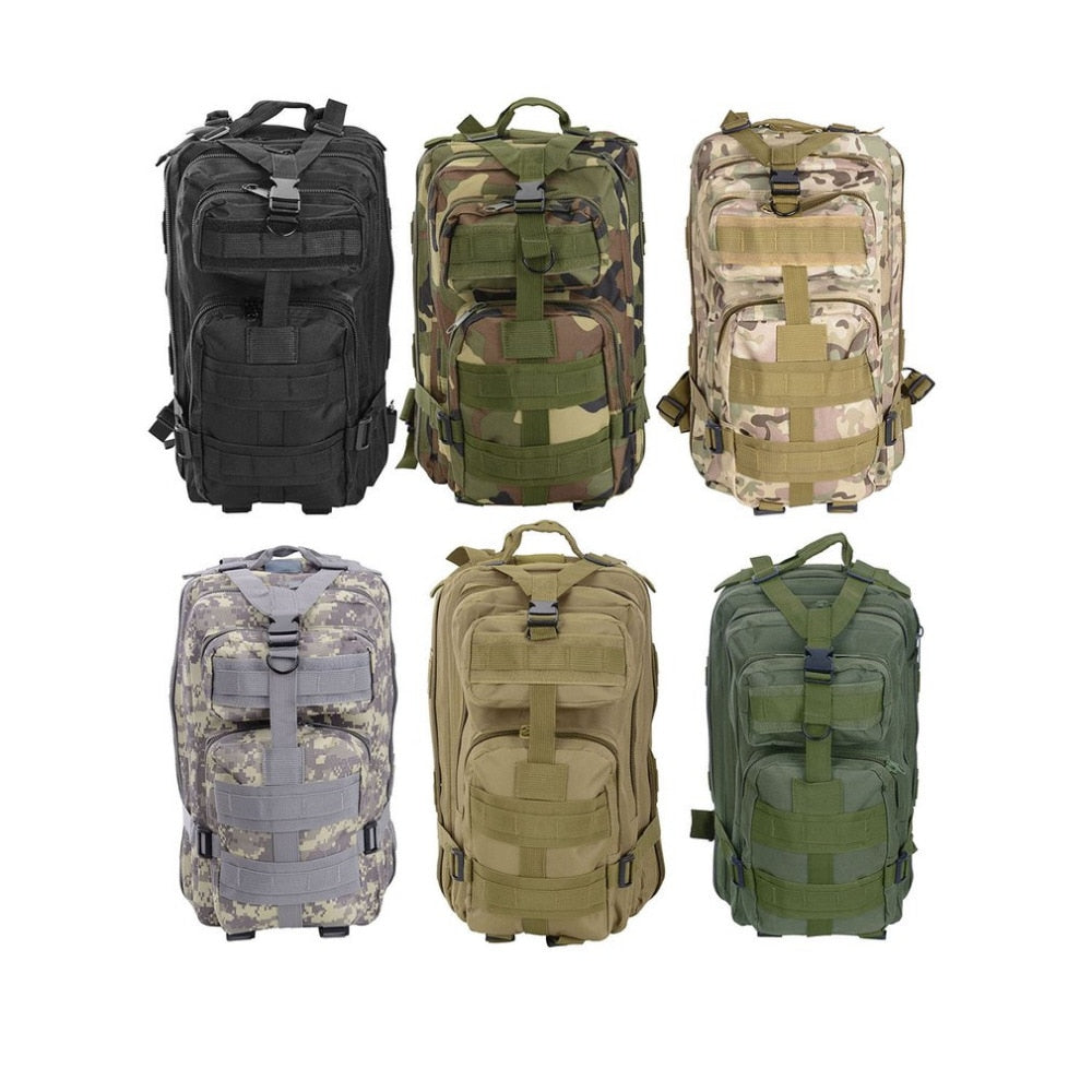Outdoor Multifunctional Sports Camping Hiking Military Tactical Backpack