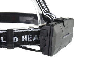 Headlight 30000 Lumen headlamp 4* T6 +2*COB+2*Red LED Head Lamp