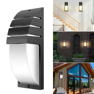 Outdoor Waterproof LED Wall Lamp Aluminum Garden Porch Corridor Lights Retro Wall lamp