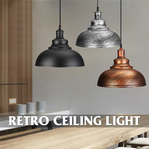 3 Style Pendant Lights Hanging E27 Edison Bulb Night Lamp Fixture