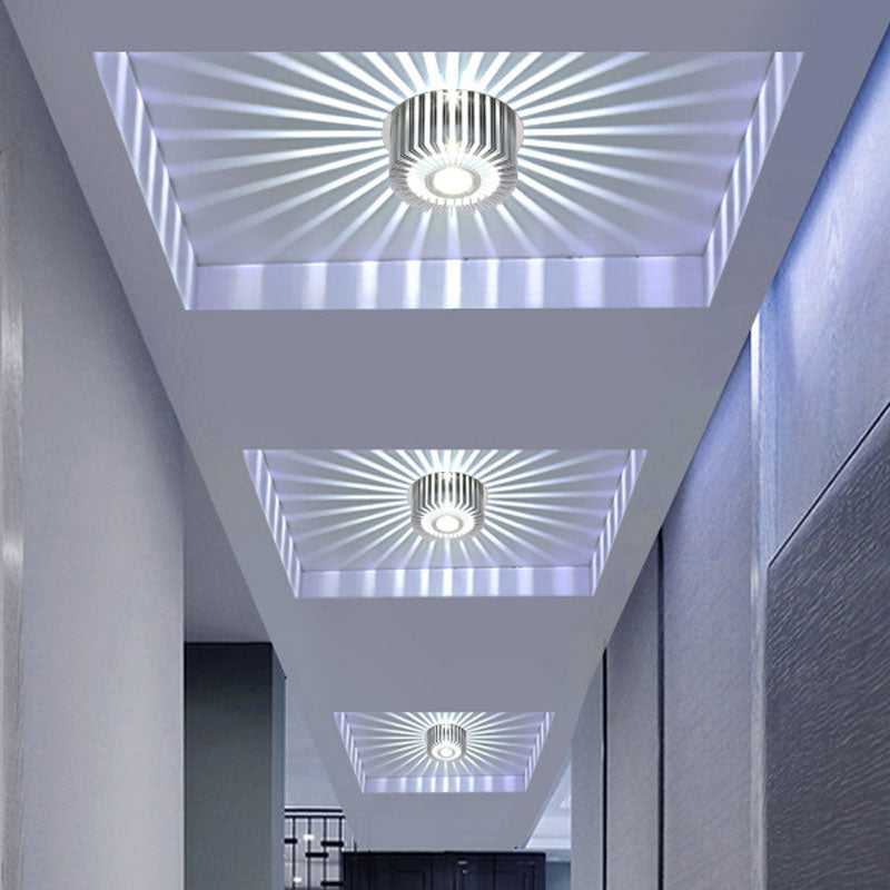 Modern LED Ceiling Light 3W RGB wall Sconce for Art Gallery Decoration