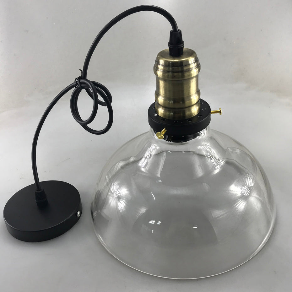 Vintage Pendant Lights Retro Glass Hanging lamp Loft Luminary Modern Kitchen Lamp