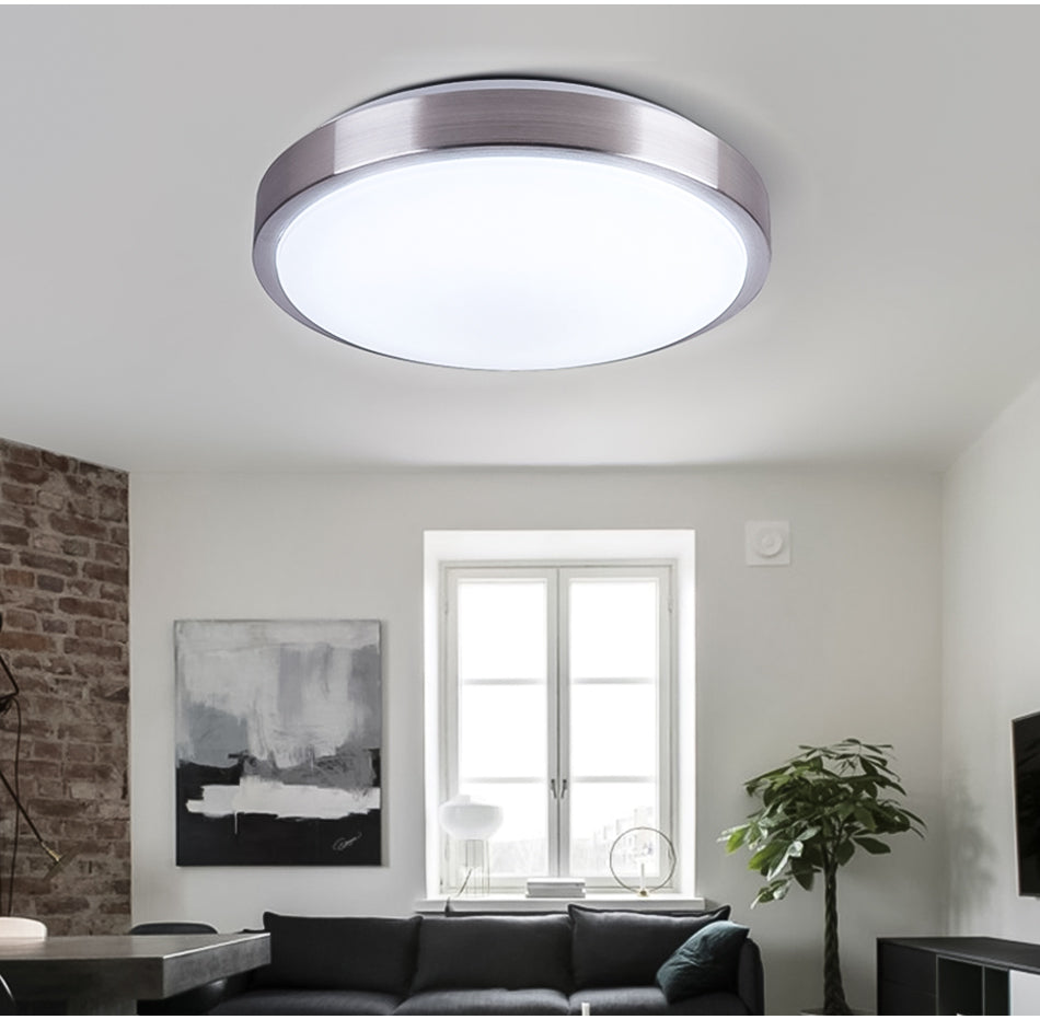 new concept 6ab3b cb254 Ultra Thin LED Ceiling Light Fixture Modern Lam Surface ...