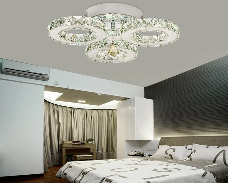 Modern Chandelier LED Ceiling Lustre Living Room Bedroom Chandeliers