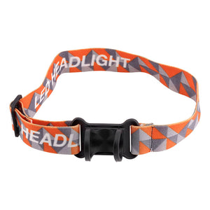 5800 LM XML-T6 Built-in lithium ion battery Zoom-able LED Headlamp