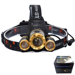 Z25 15000 LM Headlight LED T6 Headlamp Lighting bicycle Flashlight For Camping