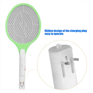 Electric Mosquito Swatter Fly Mosquito Killer Bug Zapper raquette moustique Racket Insects Killer Anti Moustique Rechargeable