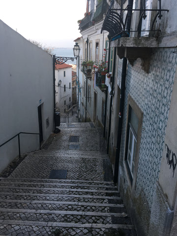 streets of the Alfama