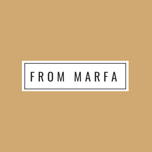 From Marfa gift card