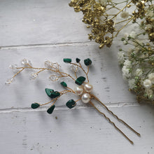 Tumbled Starpetal Hair Pin