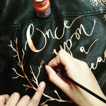 Custom Jacket Painting - Lettering Only