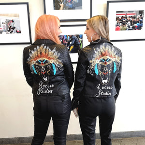 Custom Painted Jacket - Large Design