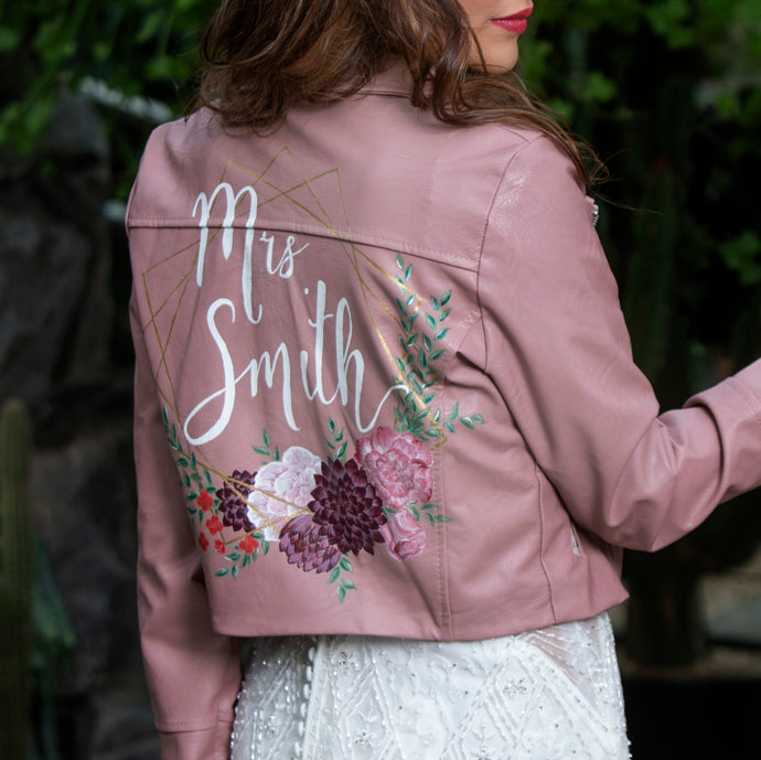 Custom Painted Jacket - Medium Design
