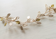 Enchanted Glass Hairvine In Gold