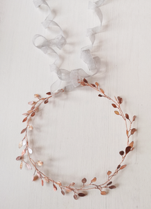 Enchanted Glass Hairvine In Rose Gold