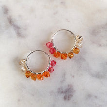 Ombre Hoop Earrings
