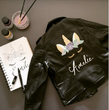 Custom Jacket Painting - Children's Jacket