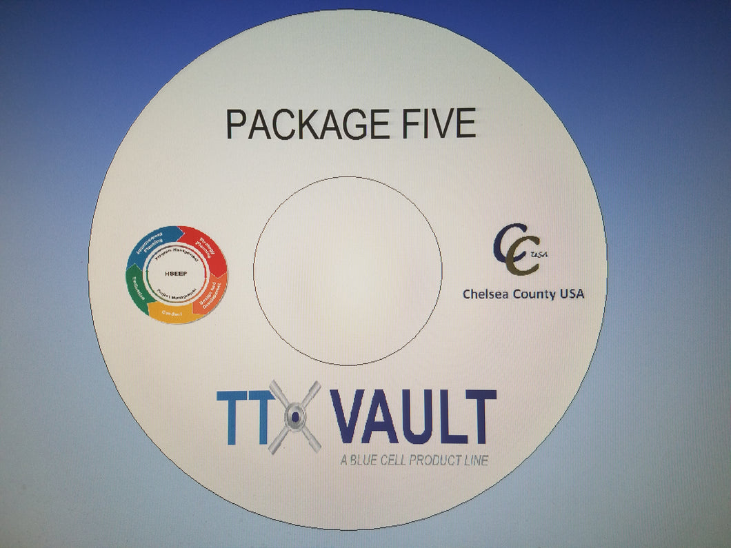 TTX Vault Package Five- Public Health Setting