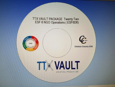TTX Vault Package Twenty Two - ESF6 NGO Operations