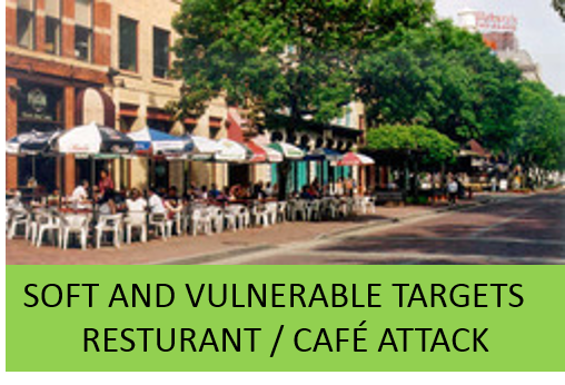 Soft and Vulnerable Targets-Open Air Resturant / Cafe Attack Tabletop Exercise