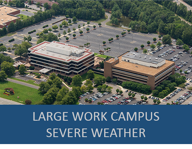 Large Industry Work Campus- Severe Weather Exercise