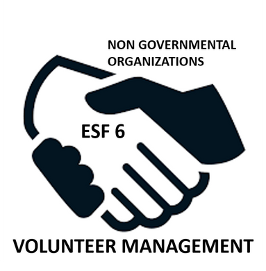 ESF 6- NGO Operations-Volunteer Management Exercise Drill
