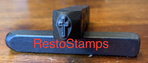 Cross / Crucifix Metal Stamp