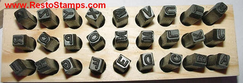 Letter stamp is used on Mustang, Cougar, Torino etc.