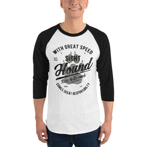 With Great Speed Baseball Shirt