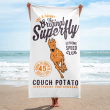 Superfly Beach Towel - White