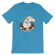 Beautiful Borzoi Unisex Tee