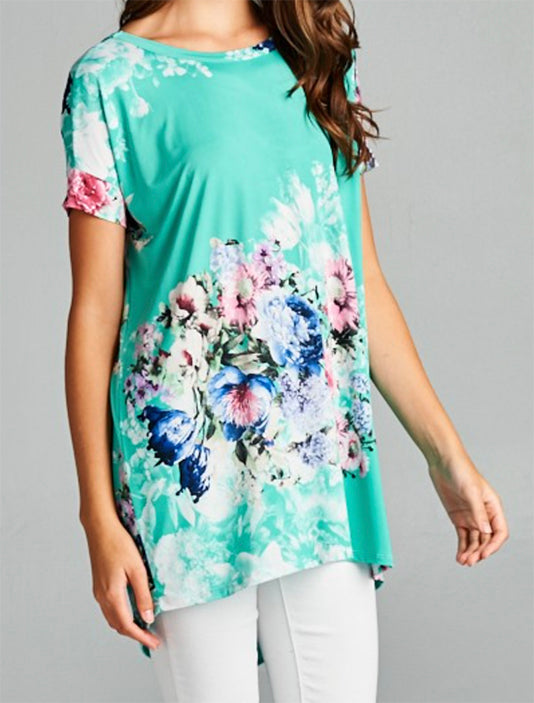 Abigail Tunic in Mint