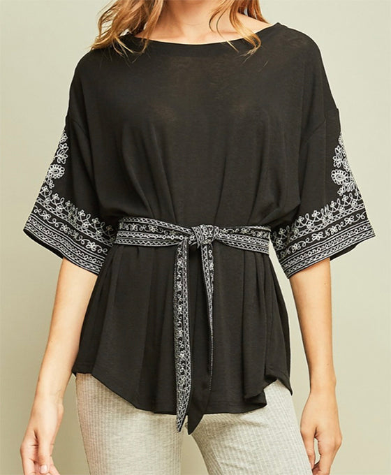 Brittany Top in Black