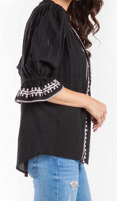Cassie Top in Black