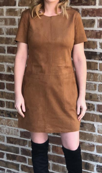 Jackson Dress in Camel