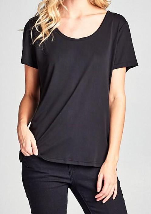 Kelly Tee in Black