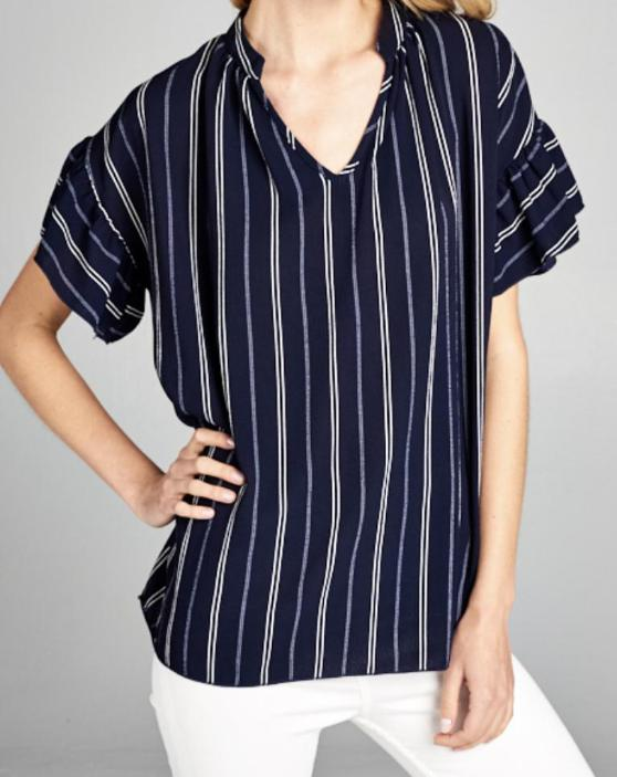 Morgan Top in Navy