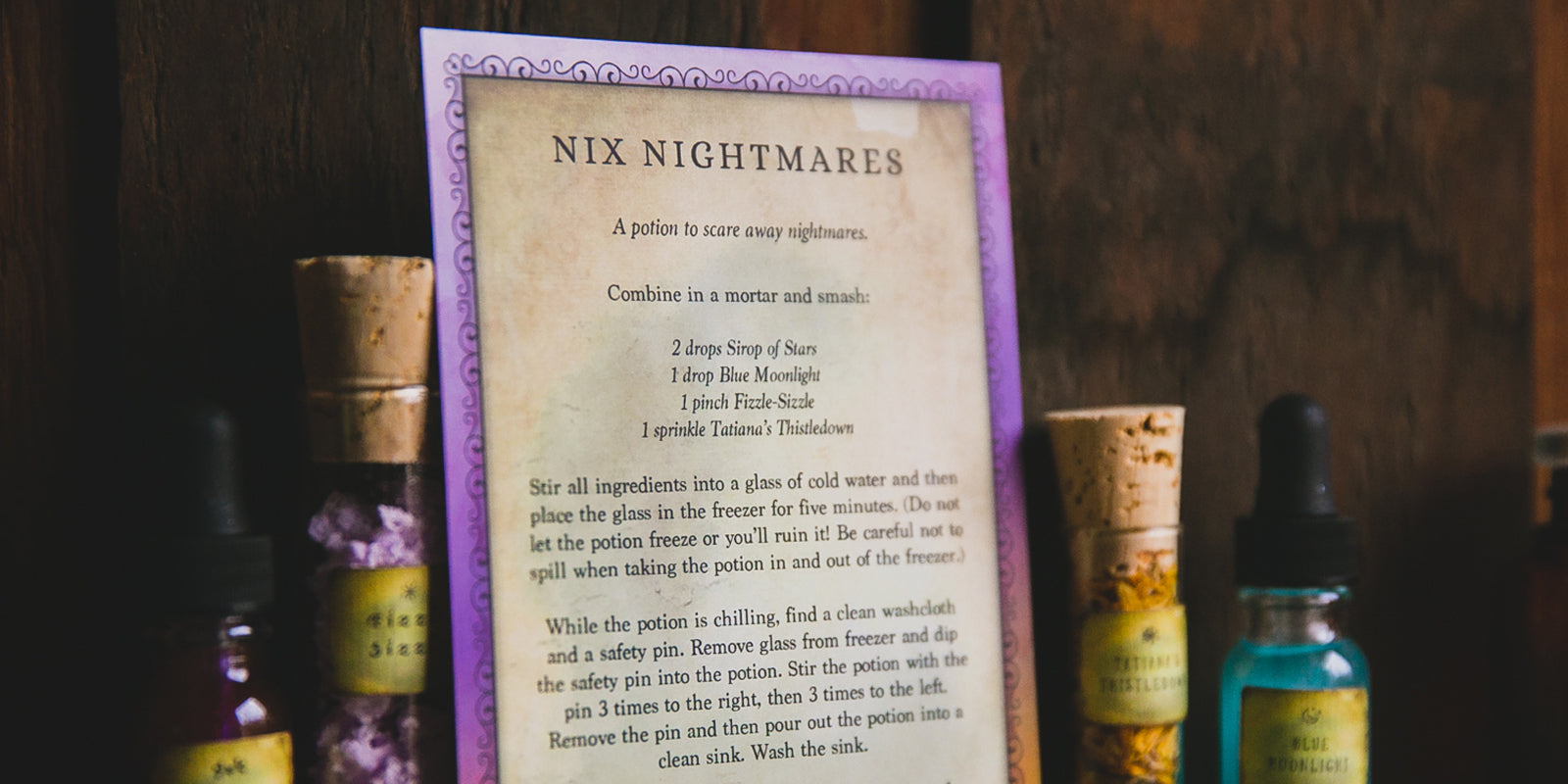 Potion Feature: Nix Nightmares