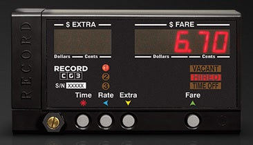 Record CG3 Taximeter Head