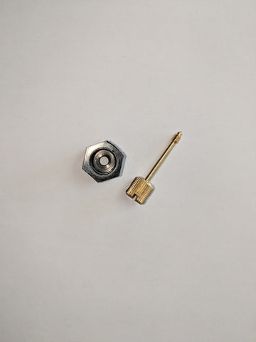 Record Taximeter hex nut and seal screw replacement