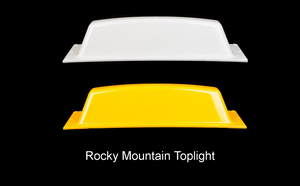 Yellow or white taxi toplights
