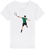 T-shirt tennis Enfant mixte *100% coton bio*