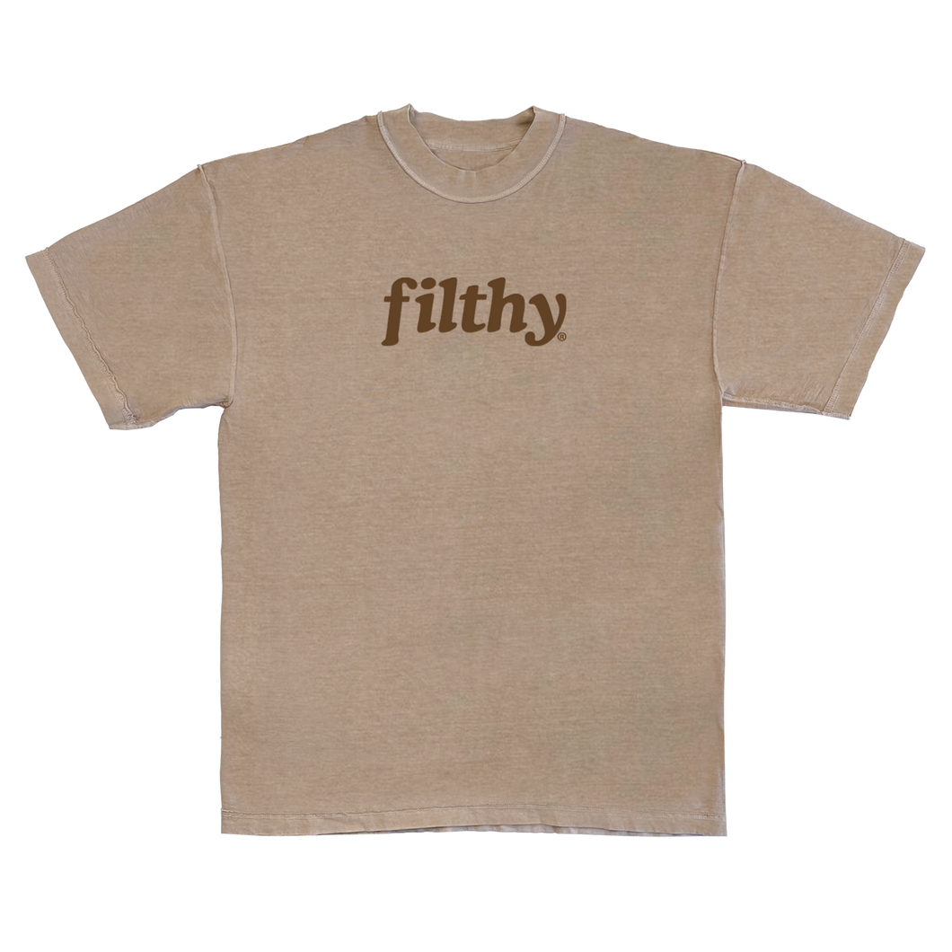 filthy® earthtone logo tee