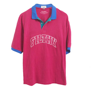 filthy® Color block polo (1of1)
