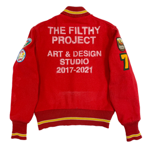 filthy® number 7 vintage varsity (1of1)